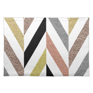 Herringbone Pattern Place Mats