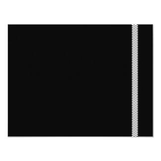 Herringbone Star Bar Mitzvah RSVP Card 11 Cm X 14 Cm Invitation Card