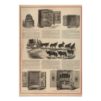 Herring's Patent Champion Safes Poster
