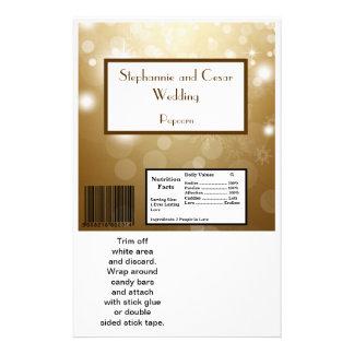Hershey's Large Bar Wrapper Christmas Copper Blur 14 Cm X 21.5 Cm Flyer