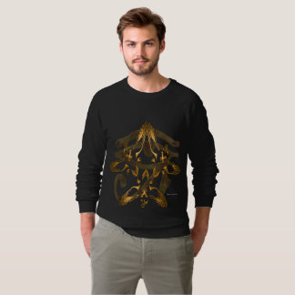 Heru Trifecta Men's Raglan Sweatshirt