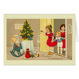 """""""Herzlichen Weihnachtsgruss"""" Christmas Card"""