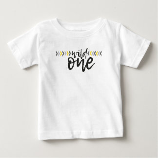 He's A Wild One First Birthday T Shirt