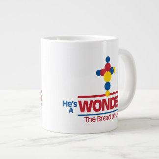 He's A Wonder Large Coffee Mug