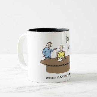 He's here to coach you on execution mug