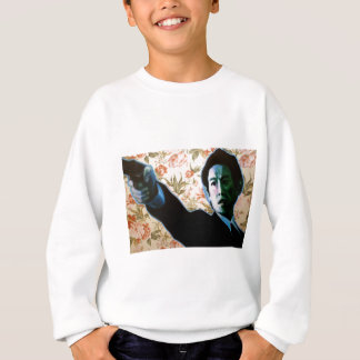 """He's in Your Living Room"" by Axel Bottenberg Sweatshirt"