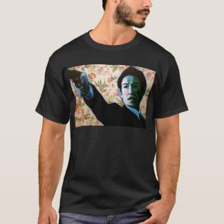 """He's in Your Living Room"" by Axel Bottenberg T-Shirt"