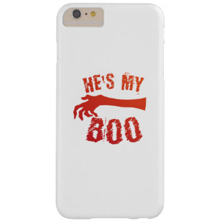 He's My Boo Halloween Love Couple Married Barely There iPhone 6 Plus Case