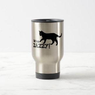 He's so Zazzy - Cat Lover Travel Mug