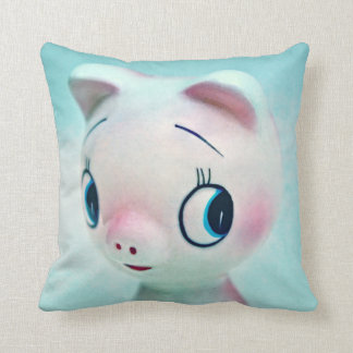 He's Such a Pig Throw Pillow
