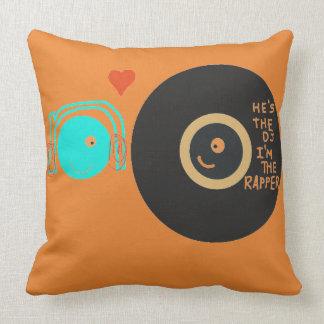 He's the DJ, I'm the Rapper pillow