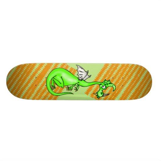 Hesitant Dragon Skateboard Deck