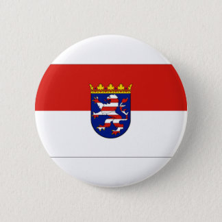 Hessen Germany Flag 6 Cm Round Badge