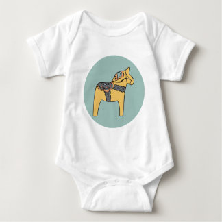 Hest Creative Apparel - Teal Baby Bodysuit