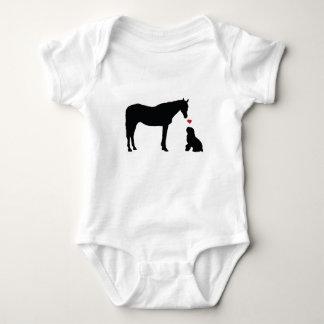 Hest Og Hund Apparel Baby Bodysuit