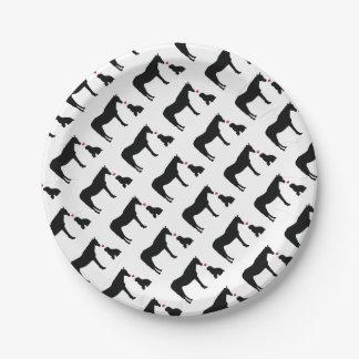 Hest Og Hund Party Supplies Paper Plate