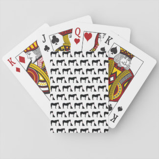 Hest Og Hund Playing Cards
