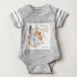 Hester, Hare Daemon from His Dark Materials Baby Bodysuit