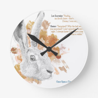 Hester, Hare Daemon from His Dark Materials Round Clock
