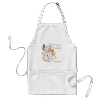 Hester, Hare Daemon from His Dark Materials Standard Apron