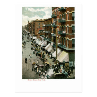 Hester Street, New York City Postcard