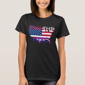 "Hetalia America ""I AM THE HERO"" T-Shirt"