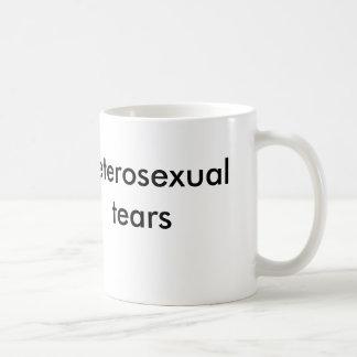 heterosexual tears coffee mug