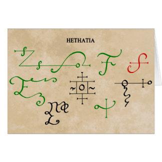 HETHATIA CARD