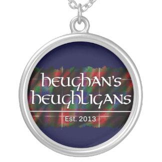 Heughligans Logo (Dk Blue) Custom Necklace