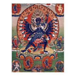 Hevajra Tibetan Buddhist Deity Postcard