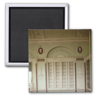 Heveningham Hall, Suffolk: library, 1778-80 Square Magnet