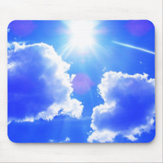 Hevenly Clouds Mouse Pad