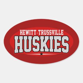 Hewitt-Trussville High School; Huskies Oval Sticker