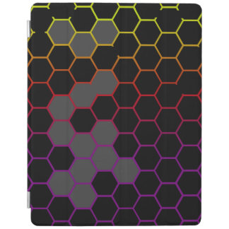 Hex Color with Grey iPad Cover