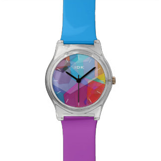 HEX COLORS | bright abstract design Wristwatches
