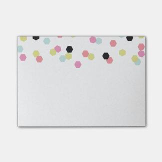 Hex Confetti - Post It Notes