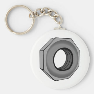 Hex Nut Key Ring