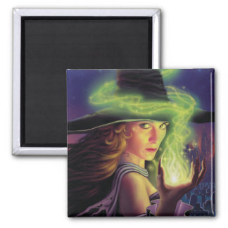 Hex of the Wicked Witch Square Magnet