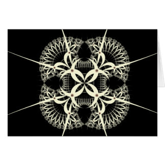 hex sign greeting card
