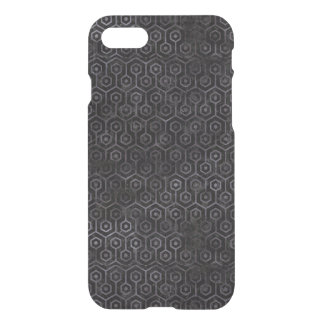 HEXAGON1 BLACK MARBLE & BLACK WATERCOLOR iPhone 8/7 CASE