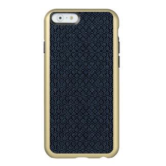 HEXAGON1 BLACK MARBLE & BLUE DENIM INCIPIO FEATHER® SHINE iPhone 6 CASE