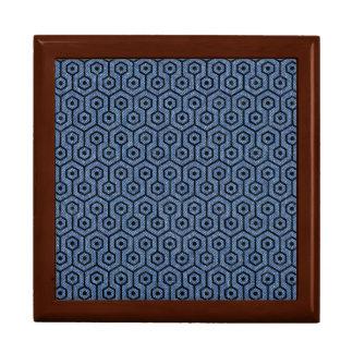 HEXAGON1 BLACK MARBLE & BLUE DENIM (R) GIFT BOX
