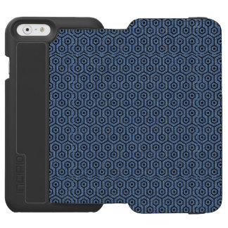 HEXAGON1 BLACK MARBLE & BLUE DENIM (R) INCIPIO WATSON™ iPhone 6 WALLET CASE