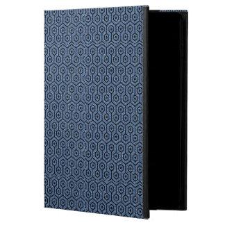 HEXAGON1 BLACK MARBLE & BLUE DENIM (R) POWIS iPad AIR 2 CASE