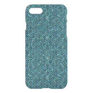 HEXAGON1 BLACK MARBLE & BLUE-GREEN WATER (R) iPhone 8/7 CASE