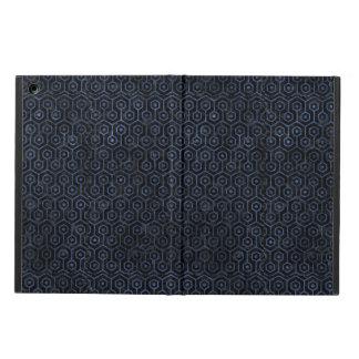 HEXAGON1 BLACK MARBLE & BLUE STONE COVER FOR iPad AIR