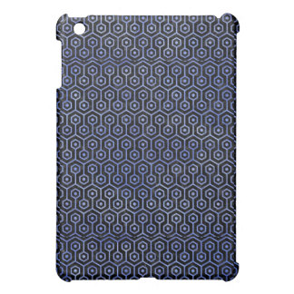 HEXAGON1 BLACK MARBLE & BLUE WATERCOLOR CASE FOR THE iPad MINI