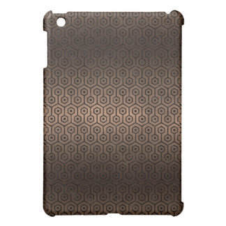 HEXAGON1 BLACK MARBLE & BRONZE METAL (R) COVER FOR THE iPad MINI