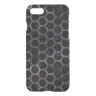 HEXAGON2 BLACK MARBLE & BLACK WATERCOLOR iPhone 8/7 CASE