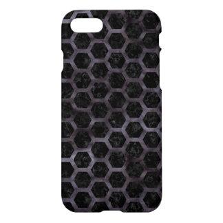 HEXAGON2 BLACK MARBLE & BLACK WATERCOLOR iPhone 8/7 CASE